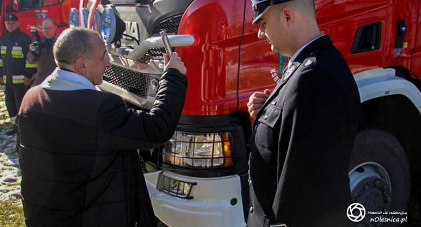 Wydarzenia, strażaków Twardogóry Domasławic - zdjęcie, fotografia