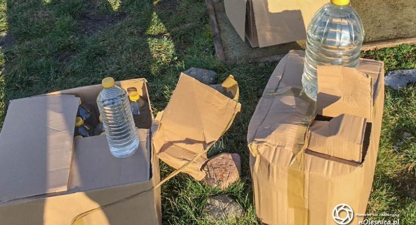 Na sygnale, Mieszkaniec powiatu zatrzymany towary akcyzy - zdjęcie, fotografia