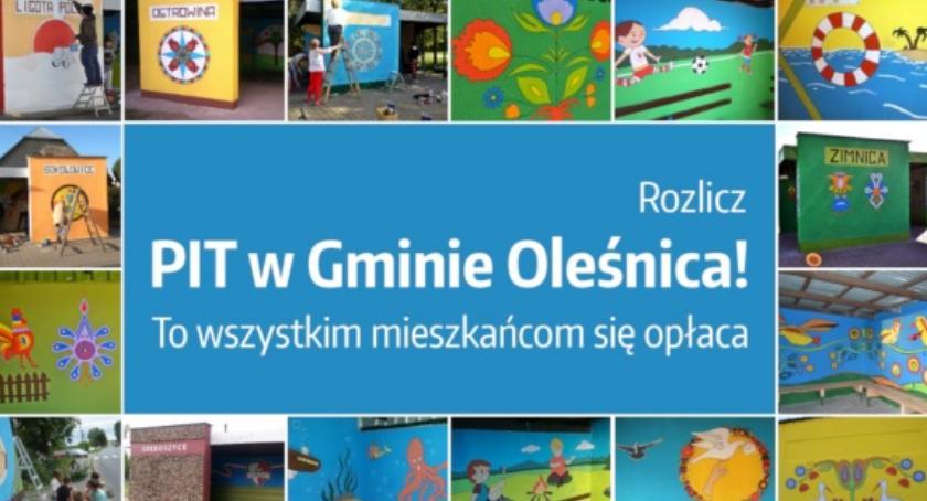 Wydarzenia, Darmowe rozliczenie gminie Oleśnica - zdjęcie, fotografia
