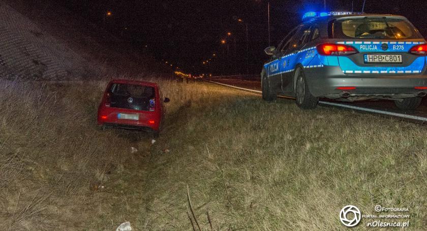 Na sygnale, Volkswagen rowie koło Polanki - zdjęcie, fotografia