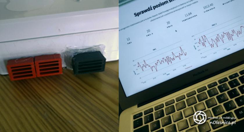 Wydarzenia, Sprawdź oddychasz Oleśnicy uczniowski projekt naukowy - zdjęcie, fotografia