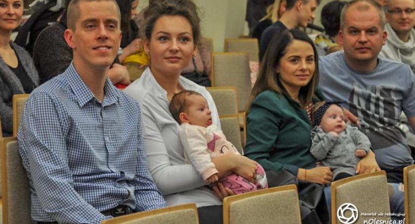 Wydarzenia, Powitanie najmłodszych mieszkańców Oleśnicy - zdjęcie, fotografia