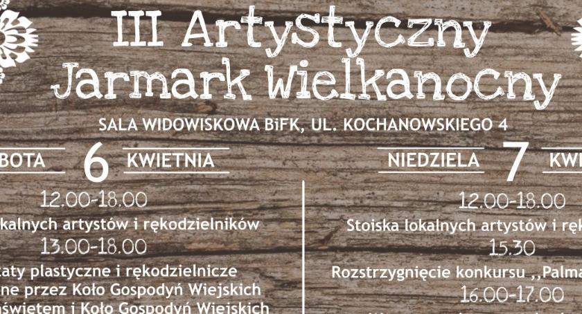 Kultura, Biblioteka Forum Kultury Oleśnicy zaprasza Artystyczny Jarmark Wielkanocny - zdjęcie, fotografia