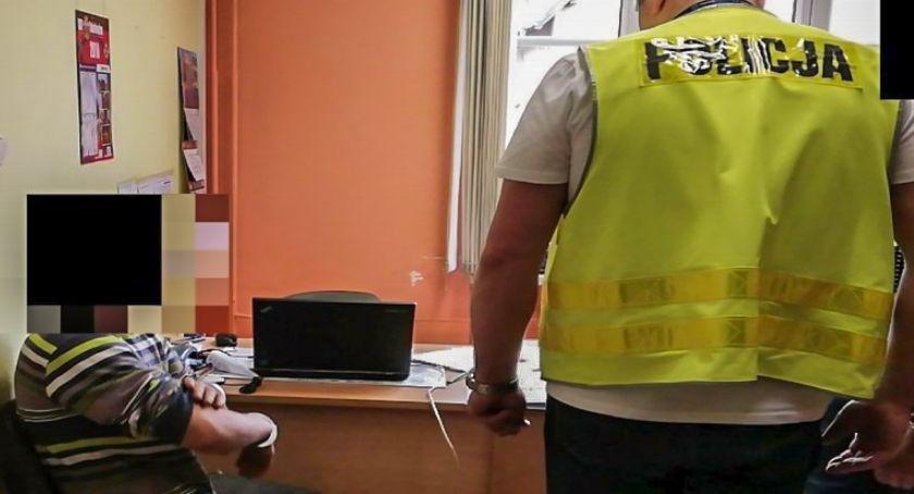 Na sygnale, Mężczyźnie grozi nawet włamanie zabytkowej skarbony - zdjęcie, fotografia