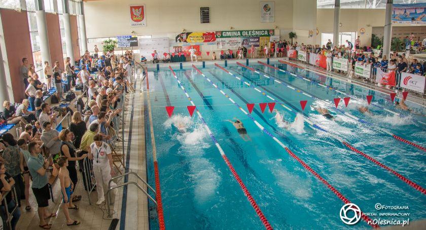 Pływactwo, Międzynarodowy Miting Pływacki Oleśnica - zdjęcie, fotografia
