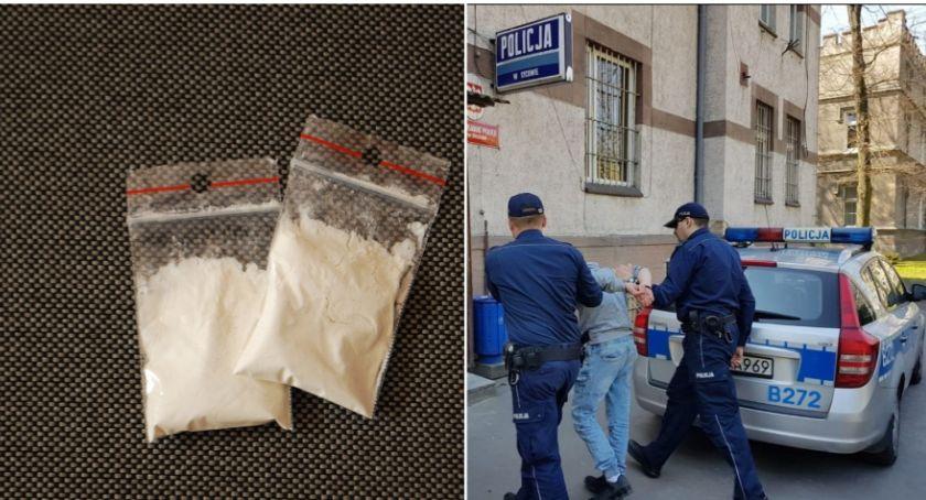 Na sygnale, Wpadł narkotykami podczas interwencji domowej - zdjęcie, fotografia