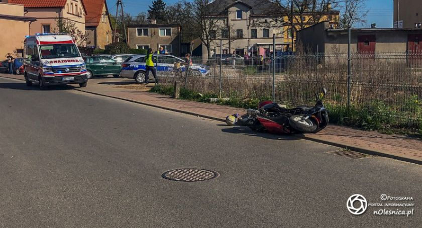 Na sygnale, Wypadek udziałem nietrzeźwego latka - zdjęcie, fotografia