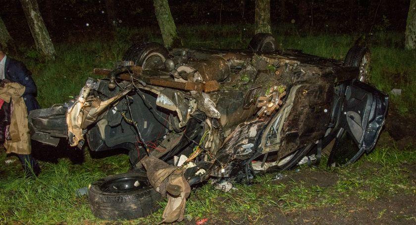 Na sygnale, Śmiertelny wypadek koło Ostrowiny - zdjęcie, fotografia