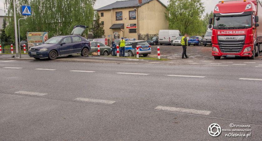 Na sygnale, Kolizja Krzywoustego Lotnicza - zdjęcie, fotografia