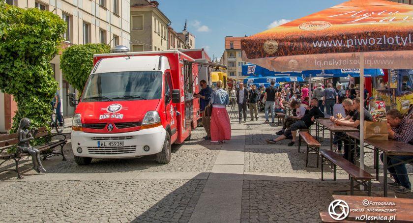 Wydarzenia, trucki oleśnickim Rynku - zdjęcie, fotografia