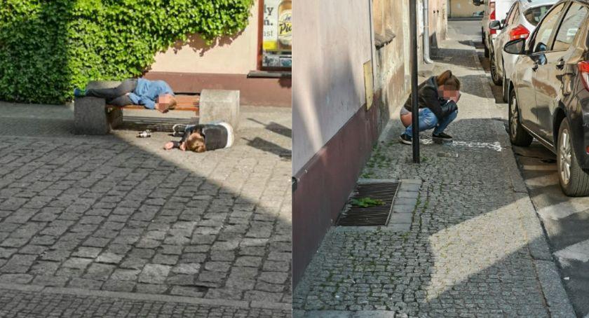 Wydarzenia, Kloszardzi - zdjęcie, fotografia