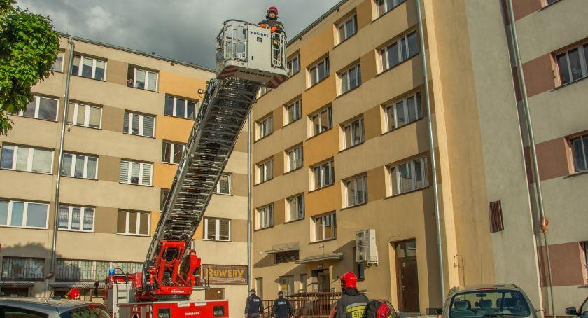 Na sygnale, Interwencja strażaków Lwowskiej VIDEO - zdjęcie, fotografia