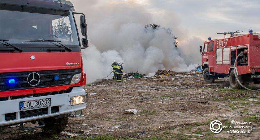 Na sygnale, Pożar śmieci Zarzysku AKTUALIZACJA - zdjęcie, fotografia
