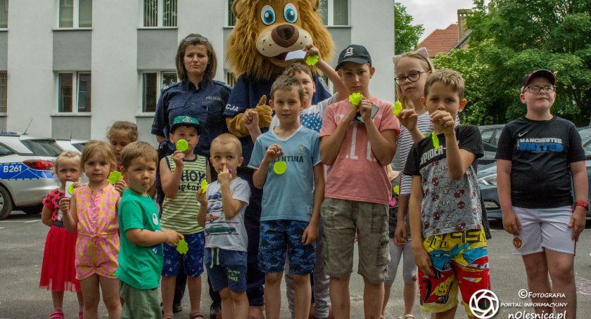 Wydarzenia, Dzień Dziecka komendzie - zdjęcie, fotografia