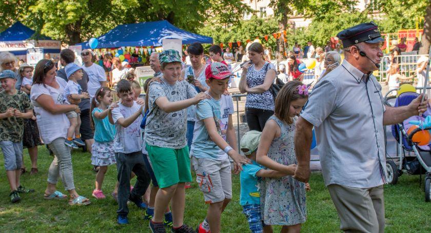 Wydarzenia, Festyn Rodzinny Parku Oleśnickich Kolejarzy - zdjęcie, fotografia