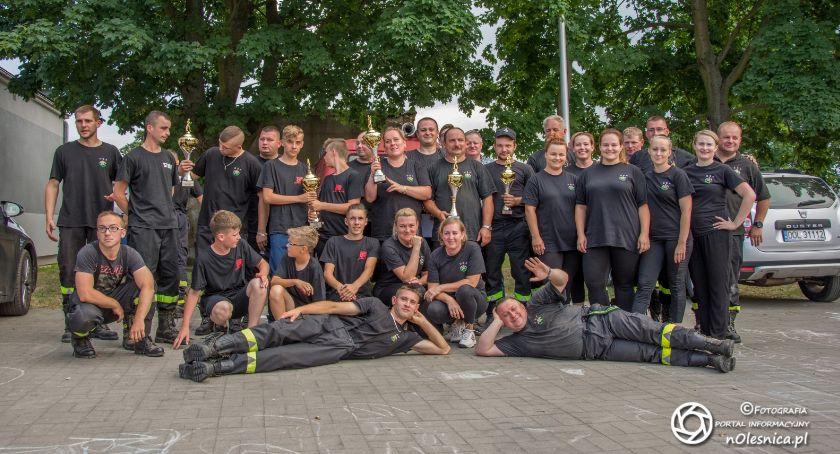 Wydarzenia, Strażackie zawody Ligocie Małej - zdjęcie, fotografia