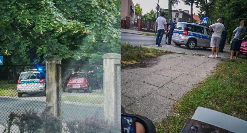 Na sygnale, Kierowca miał ponad promile próbował kontynuować jazdę - zdjęcie, fotografia