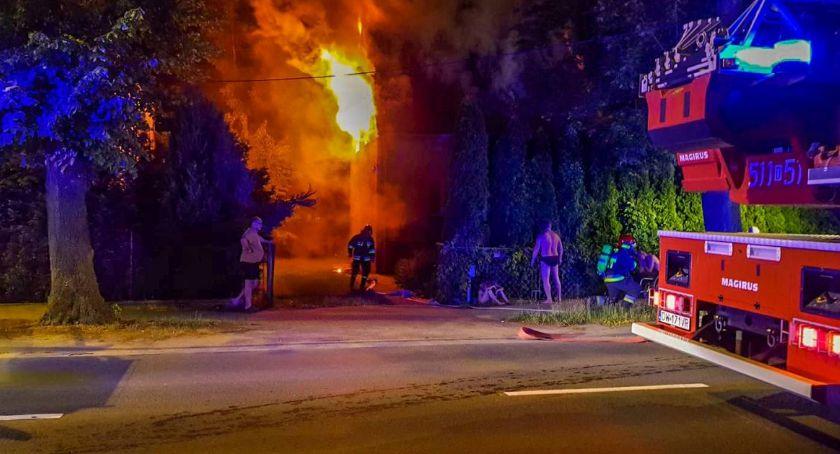 Na sygnale, Zmarła kobieta poszkodowana pożarze Wiejskiej - zdjęcie, fotografia
