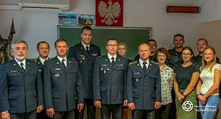 Wydarzenia, Powołano zastępcę komendanta powiatowego Oleśnicy - zdjęcie, fotografia