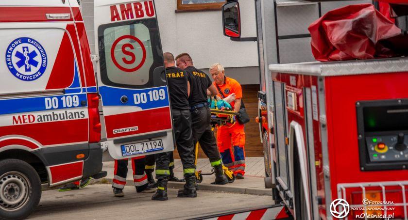 Na sygnale, Zmarł mężczyzna który skoczył balkonu - zdjęcie, fotografia