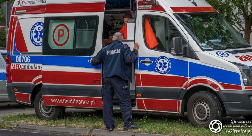 Na sygnale, Tragiczny wypadek Dobroszycach - zdjęcie, fotografia