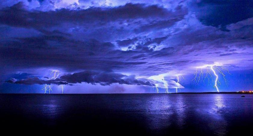 Wydarzenia, Ostrzeżenie meteo burze gradem - zdjęcie, fotografia