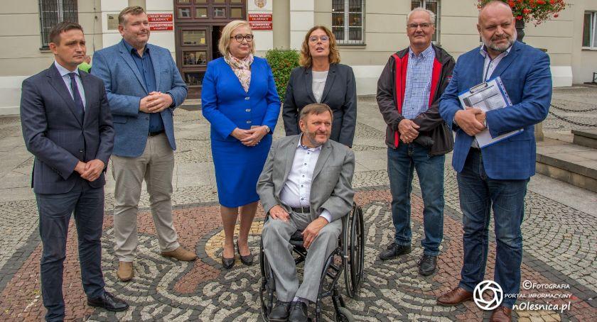 Wybory, Kandydaci Koalicji Obywatelskiej Sejmu Senatu Oleśnicy VIDEO - zdjęcie, fotografia