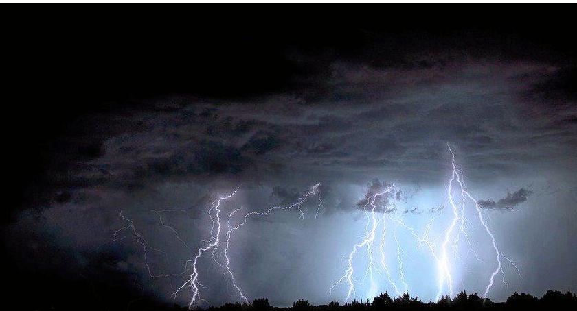 Wydarzenia, Ostrzeżenie meteo możliwe burze gradobicie - zdjęcie, fotografia