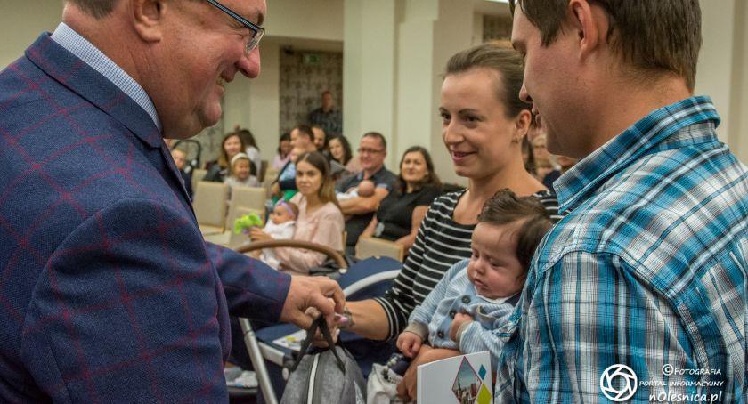 Wydarzenia, Powitanie najmłodszych mieszkańców - zdjęcie, fotografia