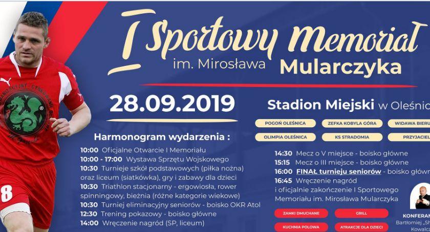 Sport, Sportowy Memoriał Mirosława Mularczyka - zdjęcie, fotografia