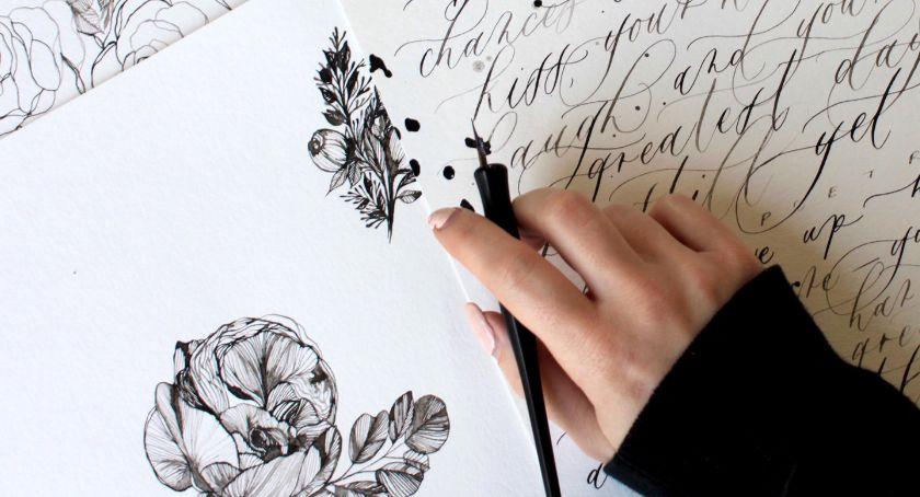 Kultura, Abecadło Rozwoju warsztatów kaligrafii polska kursywa przedwojenna - zdjęcie, fotografia