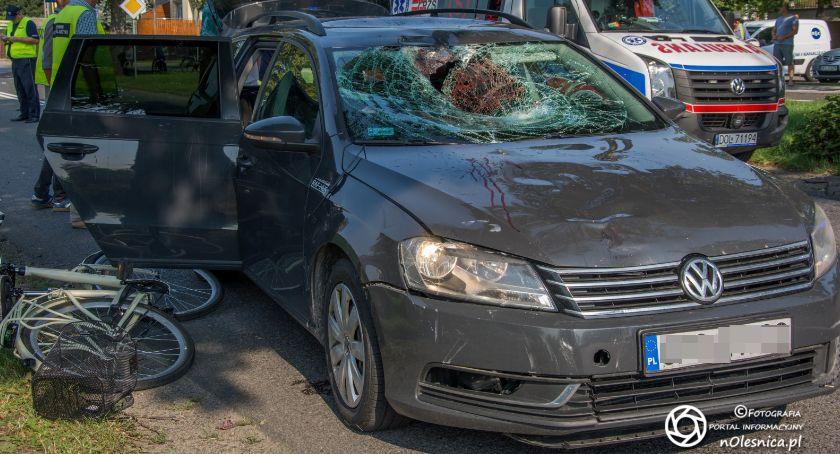 Na sygnale, Byłeś świadkiem wypadku Skontaktuj oleśnicką policją! - zdjęcie, fotografia