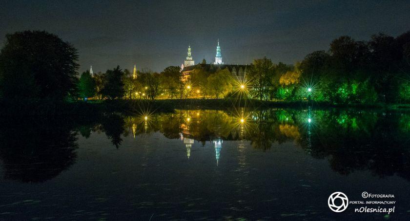 Wydarzenia, Wieczorna sesja oleśnickiego zamku - zdjęcie, fotografia