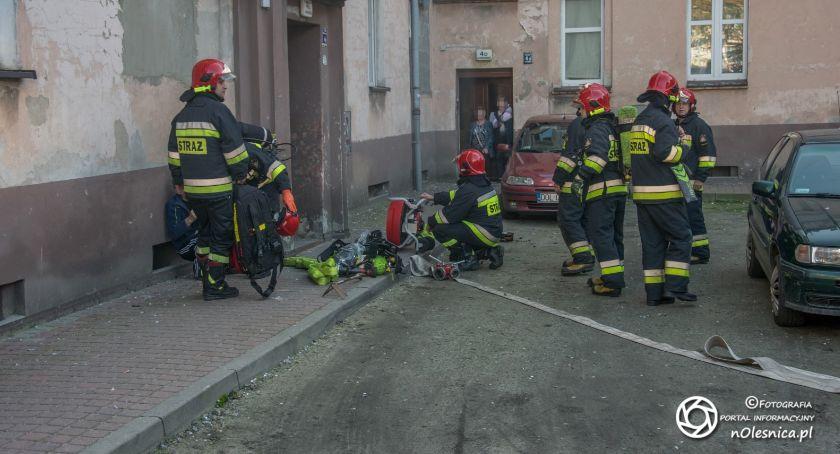 Na sygnale, Pożar kuchni Poniatowskiego - zdjęcie, fotografia