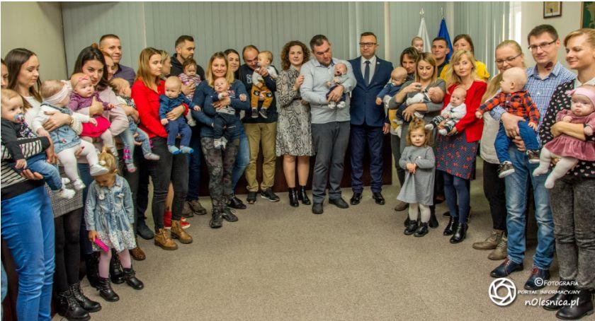 Wydarzenia, Najmłodsi mieszkańcy gminy powitanie - zdjęcie, fotografia