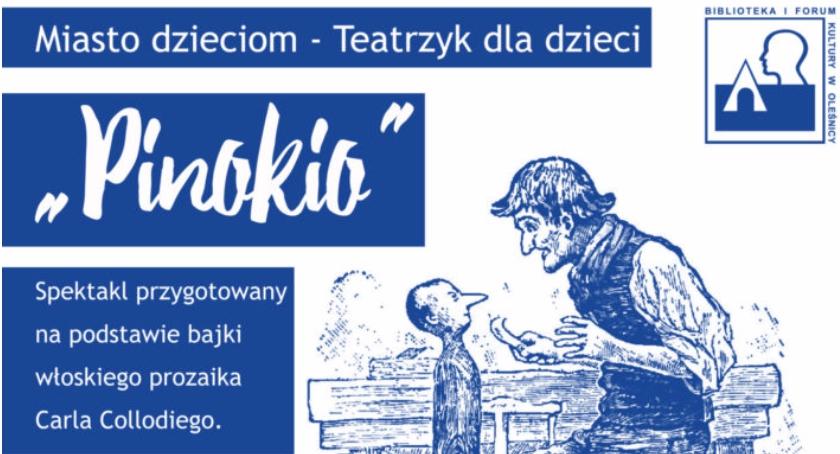 Rozrywka, Pinokio dzieci - zdjęcie, fotografia