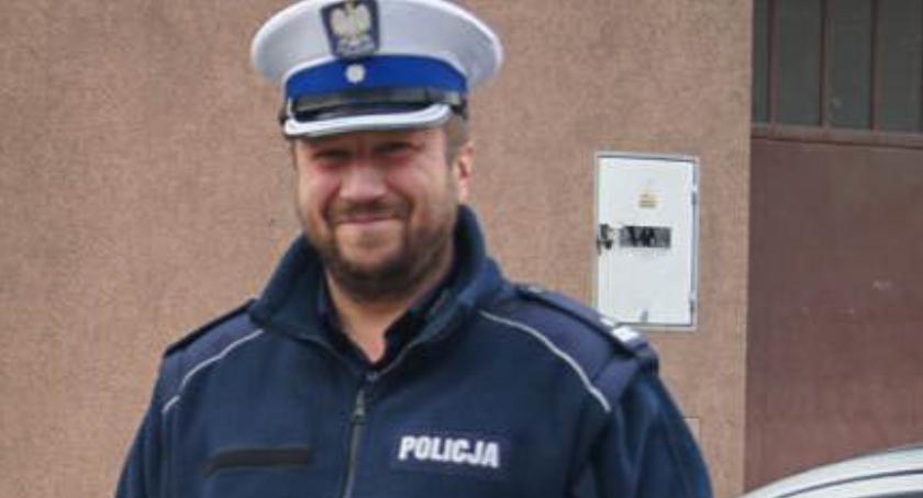 Wydarzenia, komendant policji Oleśnicy - zdjęcie, fotografia