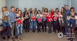 Powitanie najmłodszych mieszkańców gminy - FOTO