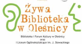 Żywa Biblioteka – znowu w Oleśnicy