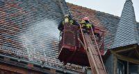 Ćwiczenia strażaków w Dobroszycach