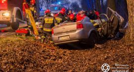 Wypadek na ul. Wileńskiej - poszkodowani ojciec i syn - VIDEO
