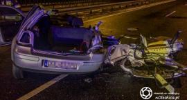 Poranny wypadek na trasie S8 oraz apel policji
