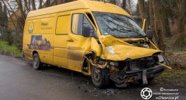 Wypadek dwóch busów w Goszczu - sprawca nietrzeźwy