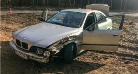 Wypadek koło Sosnówki
