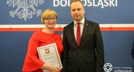 Marta Barska została nagrodzona przez wojewodę