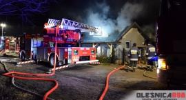 Pożar w Siekierowicach - FOTO - VIDEO