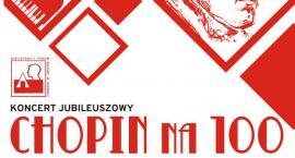 "Biblioteka i Forum Kultury zaprasza na ""Koncert jubileuszowy – Chopin na  100"""