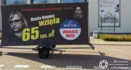 Konwój wstydu w Oleśnicy - billboardowa akcja PO - Aktualizacja