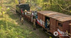 Pociąg repatriantów odjechał - FOTO - VIDEO
