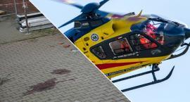 W Ostrowinie mężczyzna spadł z rusztowania - w stanie ciężkim zabrało go LPR